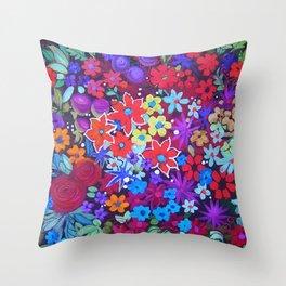 Colour Lush Throw Pillow