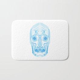 Digital Skull Bath Mat