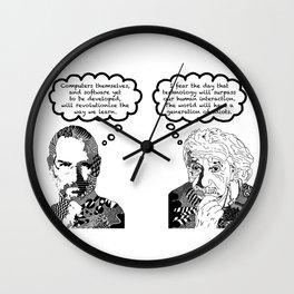 Jobs vs. Einstein Wall Clock