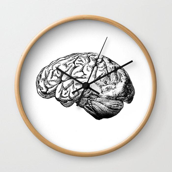 Brain Anatomy Wall Clock