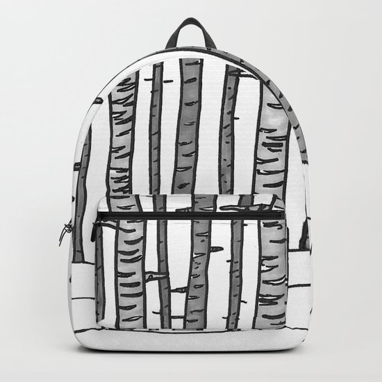 Cat Waits Backpack