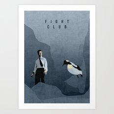 FIGHT CLUB Art Print