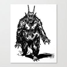 La Créature/The Creature Canvas Print