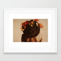 afro Framed Art Prints featuring Growth by StudioArielle.com