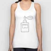 perfume Tank Tops featuring Perfume by Ocso