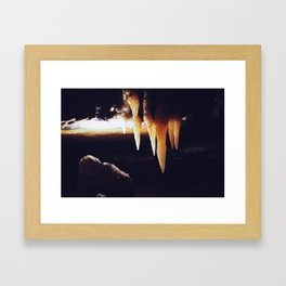 Ohio Caverns! Framed Art Print
