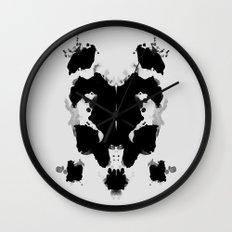 Rorscharch Wall Clock