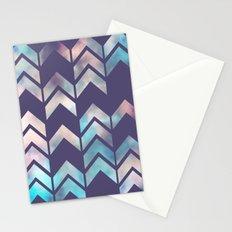 Chevron Dream 2 (Plum) Stationery Cards