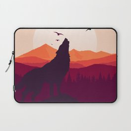 Bark At The Moon Laptop Sleeve