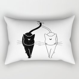 Luna and Artemis Rectangular Pillow
