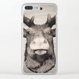 #deer Clear iPhone Case