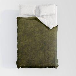 olive green velvet | texture Comforters
