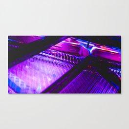 Neon Piano Canvas Print