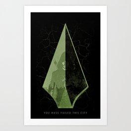 The Arrow Art Print