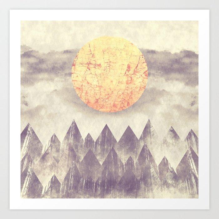 Higher Ground Art Print