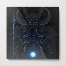Odin | Animal Gods Metal Print
