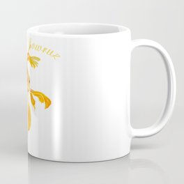 Happy Nowruz Persian New Year Goldfish Isolated Coffee Mug
