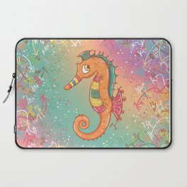 Sparkly Little Seahorse Laptop Sleeve