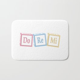 Do Re Mi Musical Baby Blocks Bath Mat
