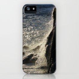 Golden water iPhone Case