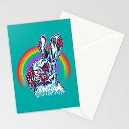 Zombie Rabbit Stationery Cards