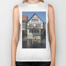 House in the water fisher quarter Ulm - Germany Biker Tank