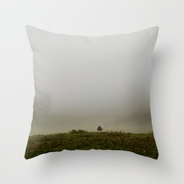 On top of it Throw Pillow