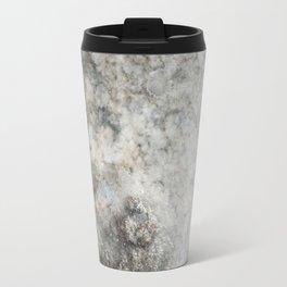 Pockets of Salt on the Rocks by the Sea Travel Mug