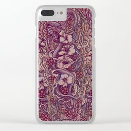Dragon Tattoo Clear iPhone Case