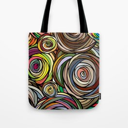 Rubberbands Tote Bag