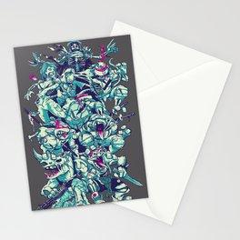 Teenage Zombie Ninja Turtles Stationery Cards