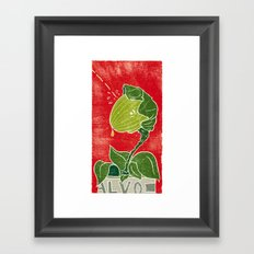 Audrey Jr. Framed Art Print