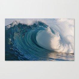 Wedge Waves 2012 Canvas Print