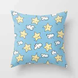 Lovely Star Pattern Throw Pillow