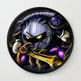 Dark Meta Knight Wall Clock