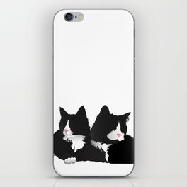 Fancy-Shmancy Tuxedos iPhone Skin