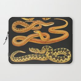 Snakes at Night Laptop Sleeve