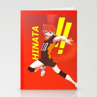 haikyuu Stationery Cards featuring Haikyuu!! Intense Hinata!! by f-premaur
