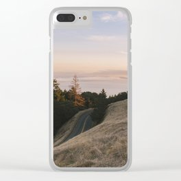Mt. Tamalpais Sunset Clear iPhone Case