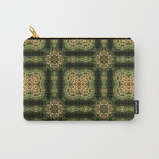 Indian Inspired Earthtone Tilework Carry-All Pouch