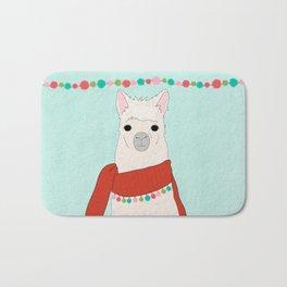 Llama Days Bath Mat