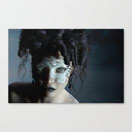 Midnight masquerade Canvas Print