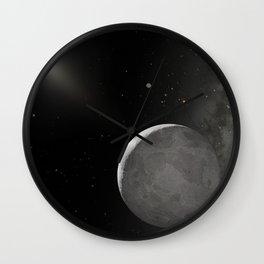 Hubble Space Telescope - Artist's concept of Kuiper Belt Object 2003 UB313 Wall Clock