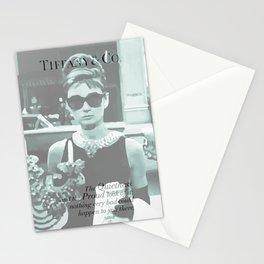 Breakfast at Tiffany's I Stationery Cards