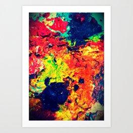 Painting Palette Art Print