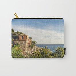 Seacoast of Cap Martin in a sunny winter day Carry-All Pouch