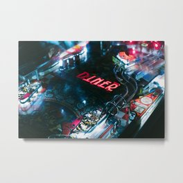 Flipper arcade bar Metal Print