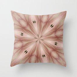 Star Magnolia Medallion 7 Throw Pillow