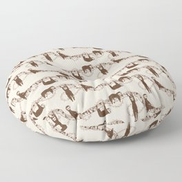 Sloth pattern Floor Pillow