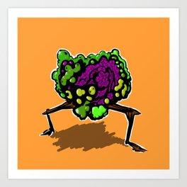 brokoli Art Print